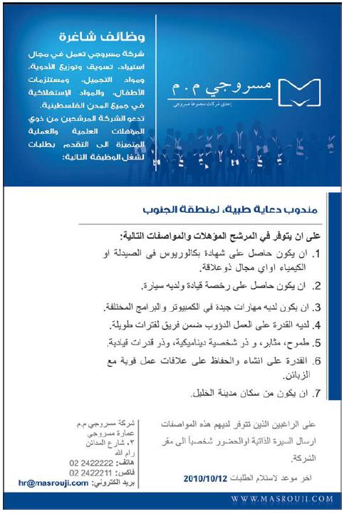 Medical vacancy